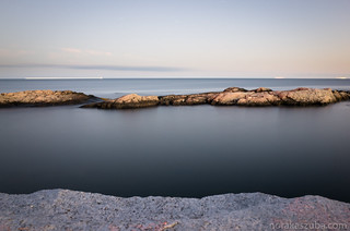 My first long exposure with the ocean...