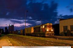 742.377-5 | tra 331 | Lpa n.D. (jirka.zapalka) Tags: train trat331 rada742 cdcargo stanice night lipanaddrevnici