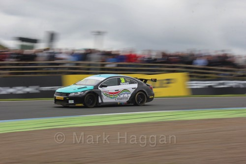 Mark Howard in BTCC race 2 during the Knockhill Weekend 2016