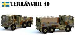 Terrngbil 40 (Matthew McCall) Tags: lego army military moc truck sweden swedish terrngbil