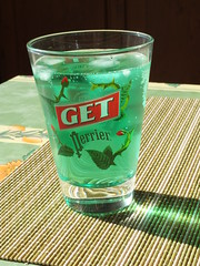 Get 27 with Perrier and ice (La belle dame sans souci) Tags: get27 perrier icecubes summerdrinks aperitif frenchdrinks