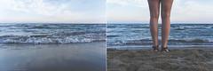 (CarolienCadoni..) Tags: ilce6000 sony backshot sea blue beach andora italy photography dof diptych