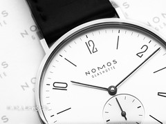 L1002263 (H.M.Lentalk) Tags: leica t typ 701 adapter leitz macro elmarit r 60mm product watch time timepiece uhren nomos glashutte glashtte timepieces 12 number numbers rzteohnegrenzen doctorswithoutborders tangente