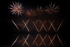 Fireworks Decazeville 2016 (Sbastien Vermande) Tags: canon7d france midipyrnes mine pit aveyron decazeville fireworks rflexion reflection feuxdartifice nuit night pauselongue longexposure sigma1770exdc vermande