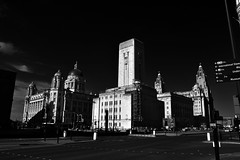 Mann Island Liverpool (18mm & Other Stuff) Tags: liverpool england monchrome blackandwhite nikon d7200 uk gb buildings city