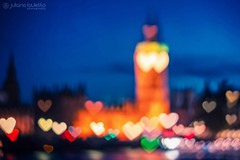 I Heart London (Juliana Lauletta) Tags: iheartlondon ilovelondon julianalauletta julianalaulettaphotography julianalaulettapictures bokeh conceptual creative england heart landmarks london longexposure love nightphotography uk