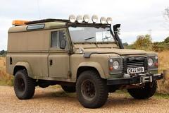 C422 NRD (Nivek.Old.Gold) Tags: 1985 land rover 110 hardtop 2495cc diesel