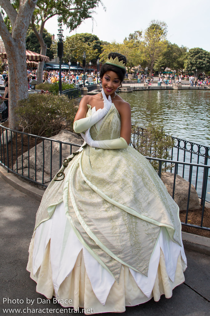 Princess Tiana at Disney Character Central