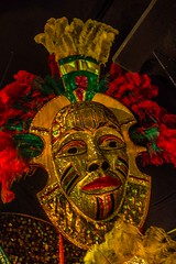 "St Lucian Carnival Mask • <a style=""font-size:0.8em;"" href=""http://www.flickr.com/photos/91306238@N04/16490852263/"" target=""_blank"">View on Flickr</a>"
