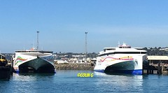 Condor Ferries (Coco of Jersey) Tags: lines st ferry boat marine ship jersey portsmouth condor ci weymouth freight guernsey channel poole roro malo austal incat