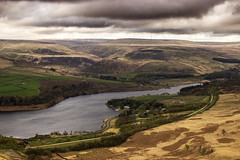 Torside Reservoir (PhilCom) Tags: landscape cloudy reservoir atmospheric