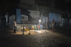 late night painting (joel feeney ( novembersongs )) Tags: street streetart art night mexico nikon playadelcarmen 5thavenue playa lovers caribbean vacations nightpainting d3200 quintannaroo