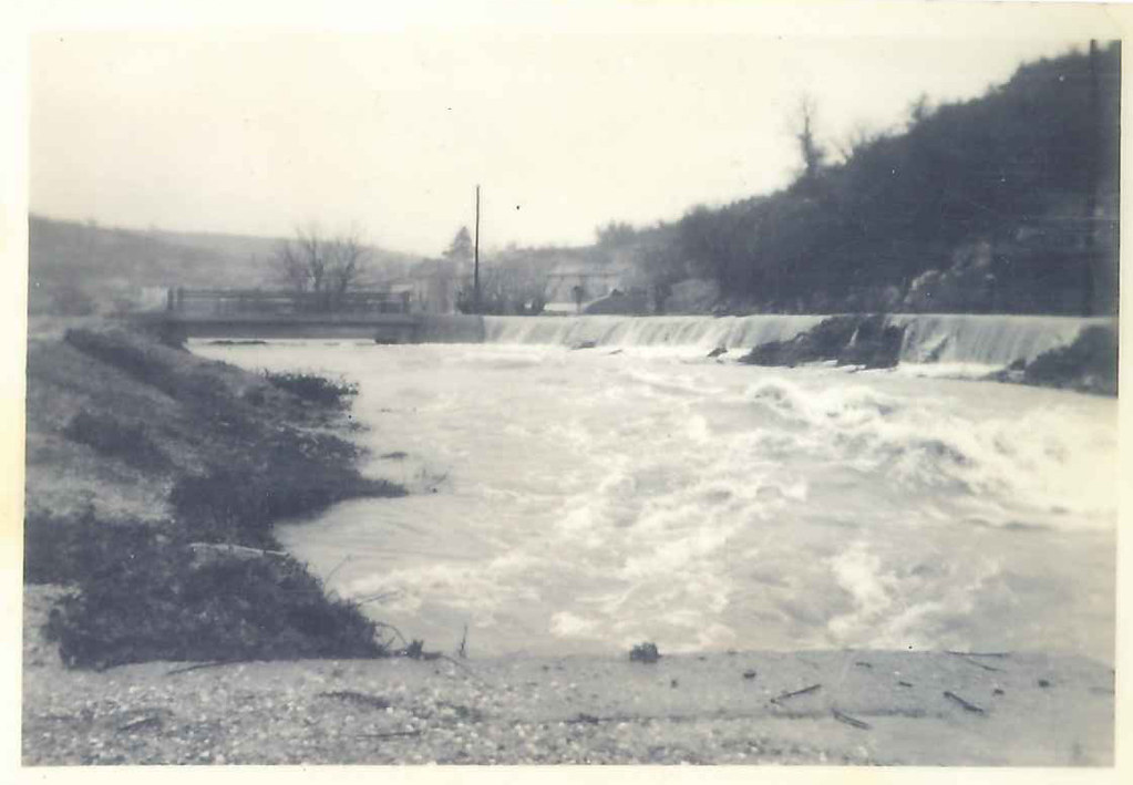 1958_innondation_le_barrage