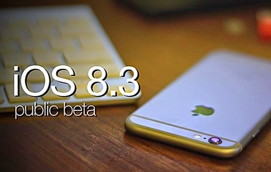Install the system IOS 8.3 on iPhone devices without the need to use the Apple Account