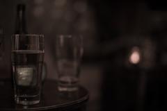 got some beer (Lucky Rubi) Tags: light beer glass bar dark drink bokeh bier nightlife