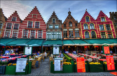 Casas tpicas (lautada) Tags: brugge casas belgica brujas flamenca tipicas