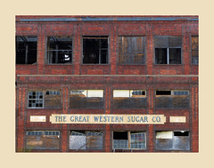 Great Western ... (oldogs) Tags: abandoned factory neglected sugar forgotten sugarbeet texure greatwestern greatwest