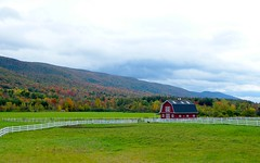 Autumn Vermont Farm House