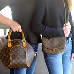 """Vintage"" Louis Vuitton Mother-Daughter Handbag Set <a style=""margin-left:10px; font-size:0.8em;"" href=""http://www.flickr.com/photos/131977751@N08/17277684306/"" target=""_blank"">@flickr</a>"
