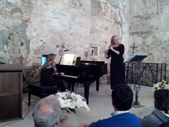 """MARTA E INGRI PIANO Y FLAUTA • <a style=""""font-size:0.8em;"""" href=""""http://www.flickr.com/photos/85451274@N03/17364293272/"""" target=""""_blank"""">View on Flickr</a>"""