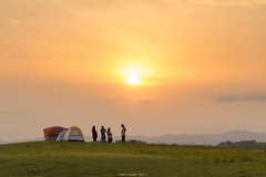 Into the Sunrise (Tarek_Mahmud) Tags: camping sunrise bangladesh tmp trk chittagong 2015 mhd rangamati khagrachori sajek trkmhd