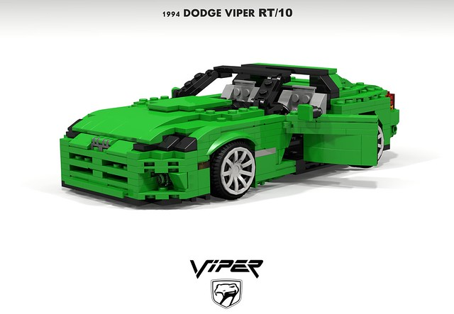 auto usa sports car america model lego render anger management jade dodge 1992 chrysler 1994 viper challenge 1990s kermit 91 v10 cad sportscar lugnuts roadster povray moc ldd angermanagement miniland rt10 lego911