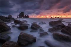Spain: Basque country (alex.yurko) Tags: ocean sunset spain country espana basque euskadi euskal herria