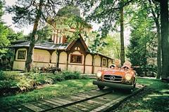 Car Freaks (Steve Lundqvist) Tags: park car kids children mercedes child sweden stockholm sverige skansen stoccolma svezia grunalund