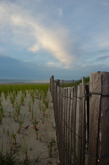Sea Isle Sunrise 07 17 16 DSC1917 (dweible1109) Tags: sic nj seaislecity 61ststdune fenceline jerseyshore 18135mmnikor newjersey nikon
