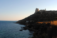 (Vindeca Raine) Tags: photography landscapes seascapes water sea rocks lighthouse nature cagliari italy