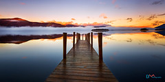 Ashness Jetty Dawn (Dave Massey Photography) Tags: ashnessbridge calm catbells dawn derwentwater mist reflection serene sunrise