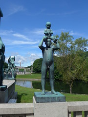 Vigeland Sculptures at Frogner Park (Oren & Shimrit) Tags:       oslo akershus fortress norway viking vikings storting parliament opera house operahuset oslofjord frogner park vigeland sculpture bygdy peninsula museum holmenkollen ski jump jernbanetorget square rdhus city hall nobel peace prize barcode project the scream edvard munch madonna norsk folkemuseum norwegian cultural history gol stave church center kontiki fram thor heyerdahl vikingskiphuset ship oseberg national gallerycomfort hotel grand central