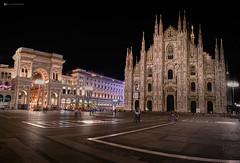 Piazza del Duomo (Luca.Pietrobono) Tags: piazzadelduomo milano