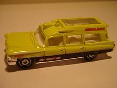 MATCHBOX 1963 CADILLAC AMBULANCE NO8 MBX COUNTY EMS 1/64 (ambassador84 OVER 6 MILLION VIEWS. :-)) Tags: matchbox 1963cadillacambulance diecast ambulance cadillac