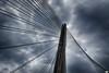Claroscuro (juantiagues) Tags: puente nubes pontevedra tirantes juanmejuto juantiagues