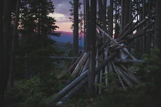 Wooden Hut - Big Sky, Montana