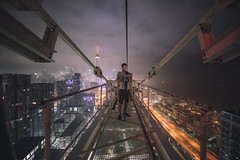 Up Slate (tomms) Tags: rooftopping toronto skyline cityscape