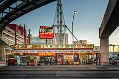 Liquor (JSP92) Tags: road beer sign us neon unitedstates lasvegas nevada casino liquor