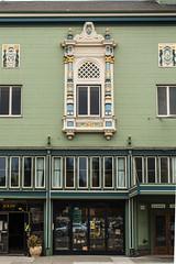 alameda-078.jpg (Yvonne Rathbone) Tags: d5500 nikkor nikon alameda architectural building fretwork green masonictemple ornate storefront window hww technical 1855mmf3556gvr