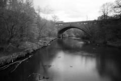 River Kelvin (nils_aksnes) Tags: blackandwhite bw glasgow pinhole ilford wppd worldwidepinholephotographyday ondu ondu135