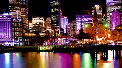 Campbells Cove, Vivid Sydney (Andy Burton Oz) Tags: nightphotography color colour building water night boat sydney australia circularquay nsw newsouthwales therocks sydneyharbour afterdark builtenvironment sydneycove 2016 portjackson laserlight campbellscove andyburton warrane afsdxvrzoomnikkor1855mmf3556g aperture36 vividsydney festivaloflightandsound meeliyahwool nikond7100 flickrexport412