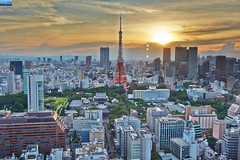 (Nature Photography (miraclellie)) Tags:     tokyo tower japan sunset   hamamatsuch