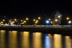 DSC00279 (EnnyKoeva) Tags: nessebar bulgaria lights night reflection water sea