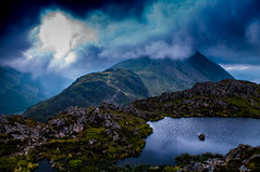 Clag! (Harvey Smith) Tags: english lake district thelakes landscape harvey smith photography 2016 summer pentax cumbria northern england northwest green lakes englishlakedistrict harveysmithphotography2016 lakedistrict northernengland haystacks mountain fellwalking lakedistrictwesternfells highcragtarn clag cloud ngc