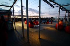 A view of the view of Paris (QRBishop) Tags: montparnasse paris canon m3 sunset