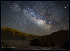 Death Valley at Night 3037 (maguire33@verizon.net) Tags: deathvalley deathvalleynationalpark milkyway camping galaxy stars california unitedstates us