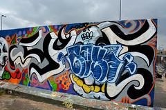 graffiti amsterdam (wojofoto) Tags: graffiti amsterdam nederland netherland holland wojofoto wolfgangjosten ndsm