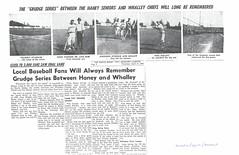 Haney-Whalley Grudge Match (Maple Ridge Museum & Archives) Tags: baseball history hammond mapleridge