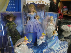 My Cinderella Collection (Cinder_boy) Tags: cinderella cenicienta cenerentola cendrillon collection limited edition dolls blue dress gus lucifer traditions