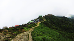 Cloudy Tumling!! :: Mountain village of Nepal....Himalaya (debarunpatra95) Tags: mountain village himalaya hills cloudy morning